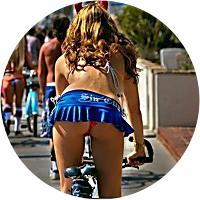 Bike hire day for J & M in Venice Beach, LA