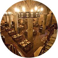 Dinner at Sarnic Restaurant (Converted Cistern)