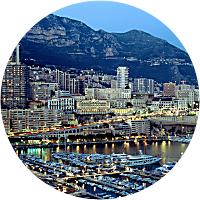 Dinner in Monaco