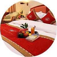 Stay in a honeymoon suite