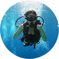 Scuba Diving Lessons for Jen