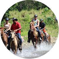 HORSEBACK RIVER RIDE