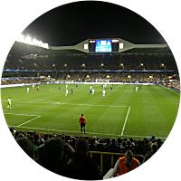 Soccer match in London