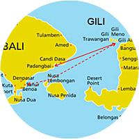Getting to Gili Trawangan