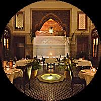DINNER AT DAR ROUMANA