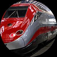Train from Monterosso to Venice