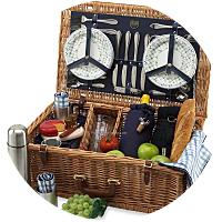 Hotel prepared picnic basket
