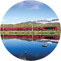 Train tickets from Oslo to Bergen