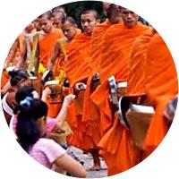Ritual Giving of Alms