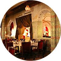 Dinner at Restaurant du Red House