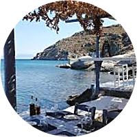 Memorable lunch in Mykonos