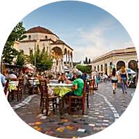 Lunch at Monastiraki
