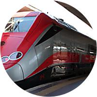 Train ride to Positano from Rome