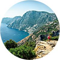 Trail of the Gods, Positano