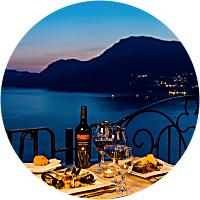 Dinner in Positano