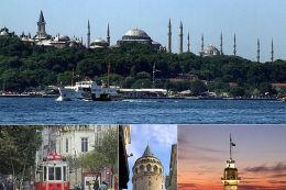 Honeymoon in Istanbul, Turkey