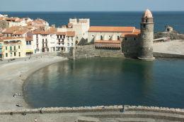 Honeymoon in Collioure, France