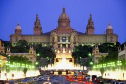 Honeymoon in Barcelona, Spain