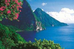 Honeymoon in St. Lucia by way of Las Vegas
