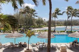 Honeymoon in Turtle Bay Resort in Oahu, Hawaii