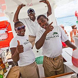 Island Routes Reggae Catamaran Cruise