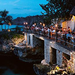Dinner off the Resort