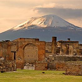 Visit to Pompeii and Vesuvius