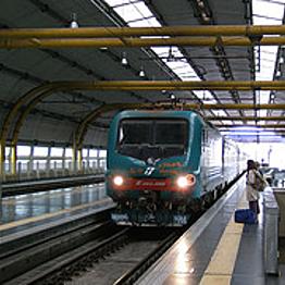 Tren hacia el aeropuerto