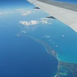 Flight to Papeete