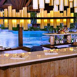 Refreshments at Aparima, a Swim-Up Bar
