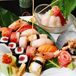 Dinner at Sushi Take