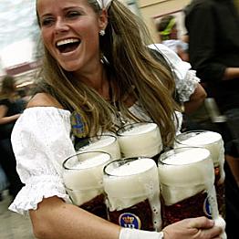 A Litre of Beer at Oktoberfest