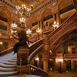 Lunch & Tour of Palais Garnier Opera House