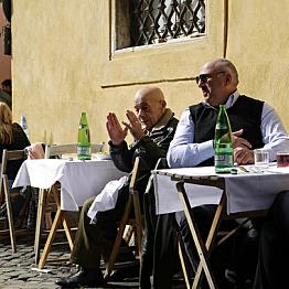 First dinner in Rome - Da Lucia