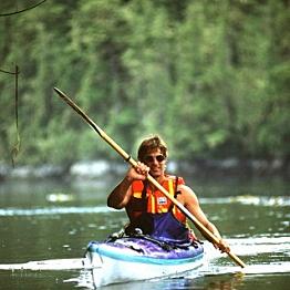 Kayaking Caapechen Lagoon