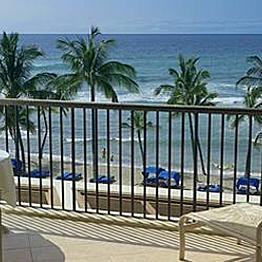 Upgrade to oceanfront hotel room