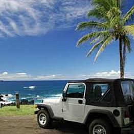 Rental Car to Tour the Island