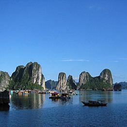 Boat Ride Through Ha Long Bay