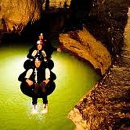 Waitomo black water rafting and glow worms