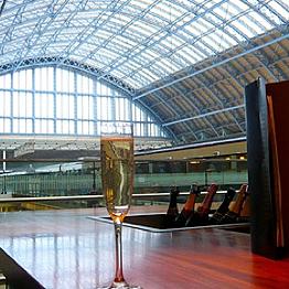 Pre-Eurostar champagne