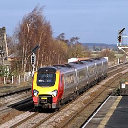 Train from Edinburgh to Newcastle
