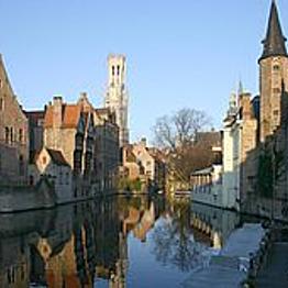 Train to Brugge, Belgium