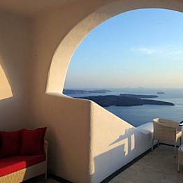 Our Santorini Accomodations