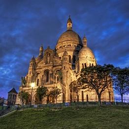 Sunrise at Sacre Coeur