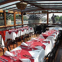 Dinner Cruise down the Seine River