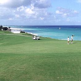 Beachside Golfing
