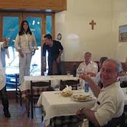 Dinner in Vatican City