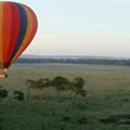 Ballooning in Maasai Mara