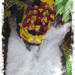 Kaitiaki Adventures - White Water Rafting