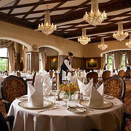 Dinner at the Ashford Castle